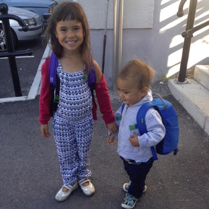 Alma och Alvin på förskolan